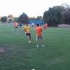El tradicional partido de fútbol en Silicon Valley